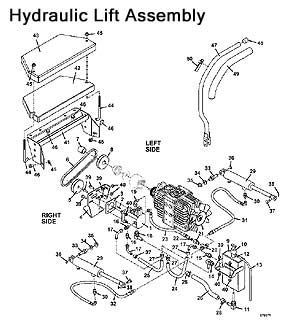 Hydraulic Lift Assembly