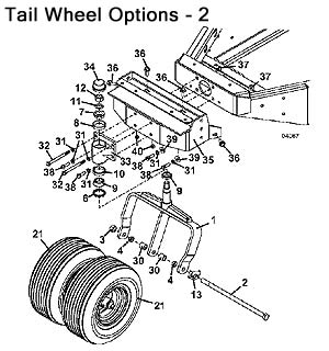 Tail Wheel Assembly20