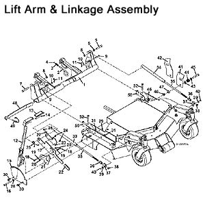 Lift Arm Linkage Assembly