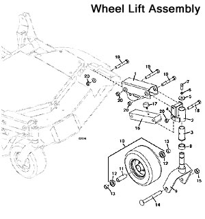 Wheel Lift Assembly