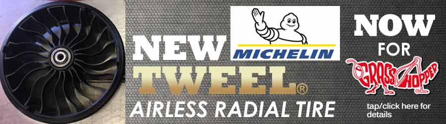 Michelin Tweel for Grasshopper