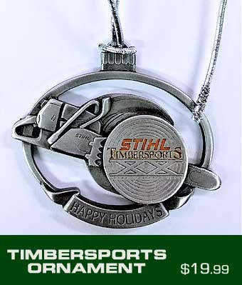 Timbersports Ornament