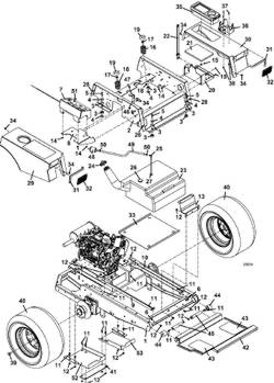 Wiring Diagram For 3 Wire Gm Alternator The Wiring Diagram additionally Huskee 42 inch riding mower deck belt diagram further Allis Chalmers Parts Catalog furthermore Ejector Seat Diagram likewise How to put belt on the mower deck. on john deere tractor wiring schematics
