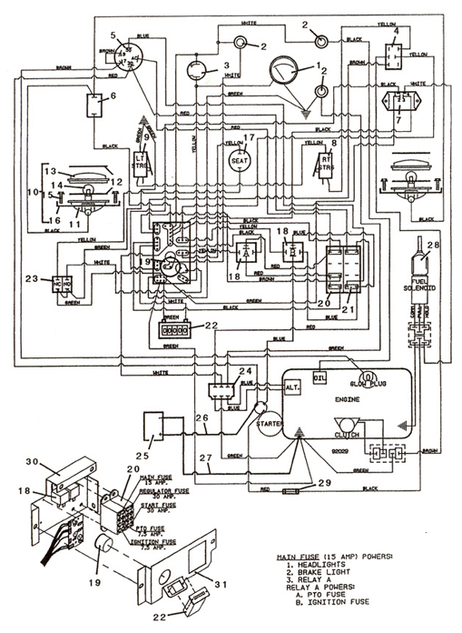 Kubota Rtv 900 Parts Diagram Kubota Wiring Diagram Images