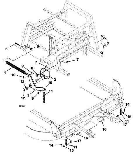 725 1990 grasshopper mower diagram  u0026 parts list